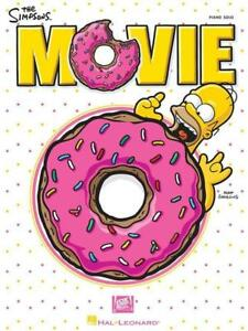 The Simpsons Movie Piano Solo Sheet Music Soundtrack Hans Zimmer Gift Play Ebay