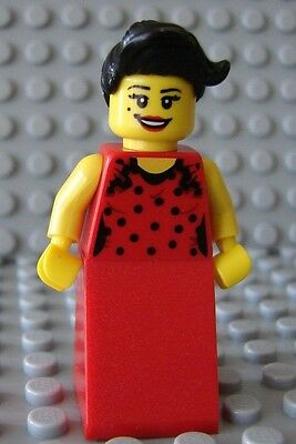 Hand Fan Black x 1 NEW LEGO Wyldstyle Flamenco Dancer Figure Accessory