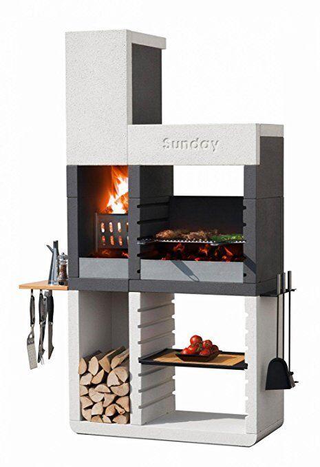 Barbecue a legna e carbonella Sunday One Tower BBQ