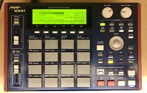 Akai MPC 1000 Blue Sampler Drum Machine (Selling For Parts) (Please Read)