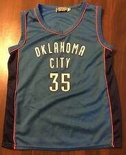 OKLAHOMA CITY NBA  # 35 BASKETBALL JERSEY  BY VICTORY LEAGUE  SIZE YOUTH 14 / 16