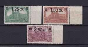 Deutsches-Reich-116-118-a-postfrisch-geprueft-alle-Seitenrandstuecke-dgz