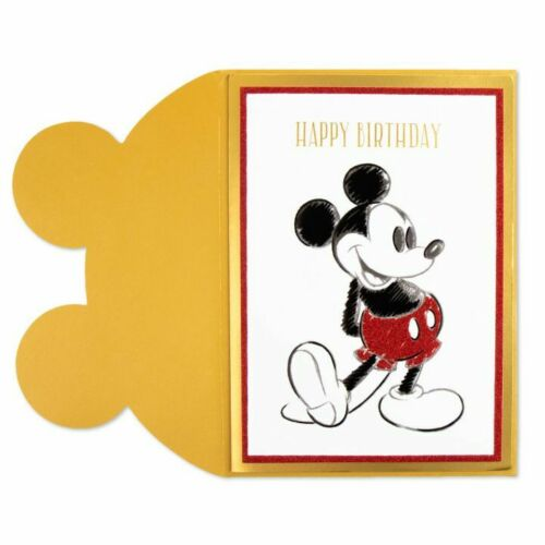 Papyrus Disney Classic Mickey Mouse Birthday Card
