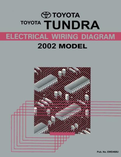 2002 Toyota Tundra Wiring Diagrams Schematics Layout Factory OEM for sale  online | eBay | Tundra Wiring Diagram |  | eBay