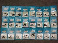 144 Interlock Interlocking Black Size 3 Fishing Snap Swivels Leaders