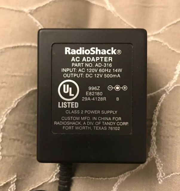 Uniden AD-314 Class 2 Power Supply Input 120V 60Hz 8W Output 9V 350mA Charger