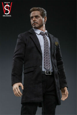 POPTOYS X21 1//6 Tony Stark Business Suit Male Clothes Model F 12/'/' Action Figure