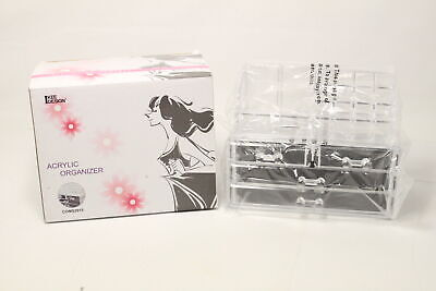 Ikee Design Acrylic Jewelry Cosmetic Storage Display Boxes Two Pieces Set Ebay