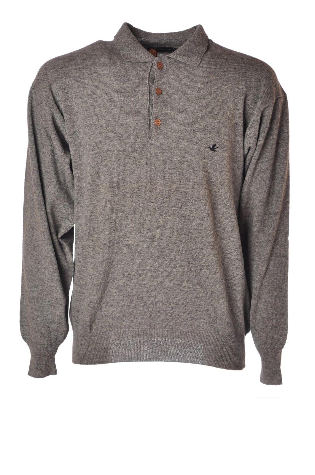 Brooksfield  -  Sweaters - Male - Grau - 4529023A185158