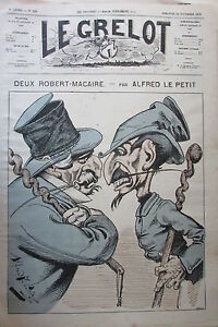 Caricature-Politique-Deux-Robert-Macaire-Journal-Satirical-the-Bell-of-1874