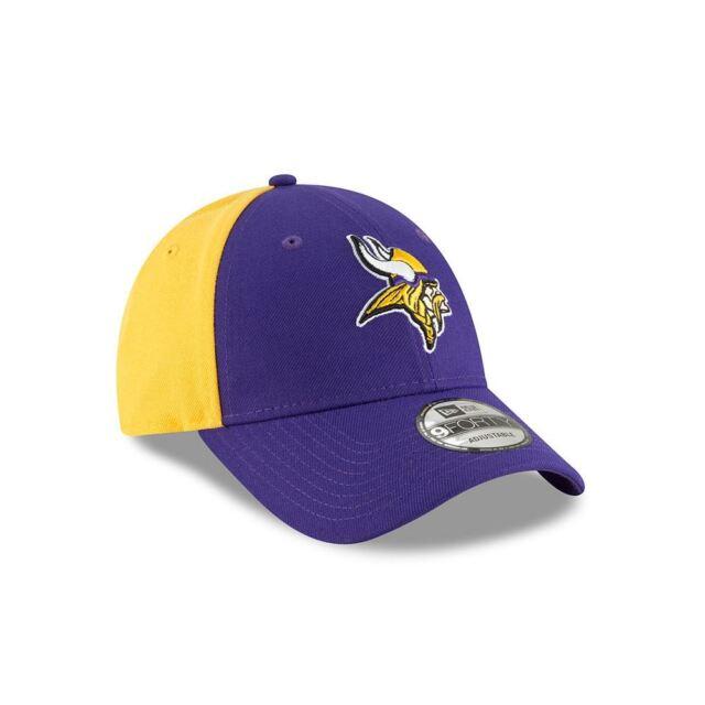 bbd9b59af Minnesota Vikings Hat Adjustable Men s NE Blocked Team 9FORTY New Era NFL