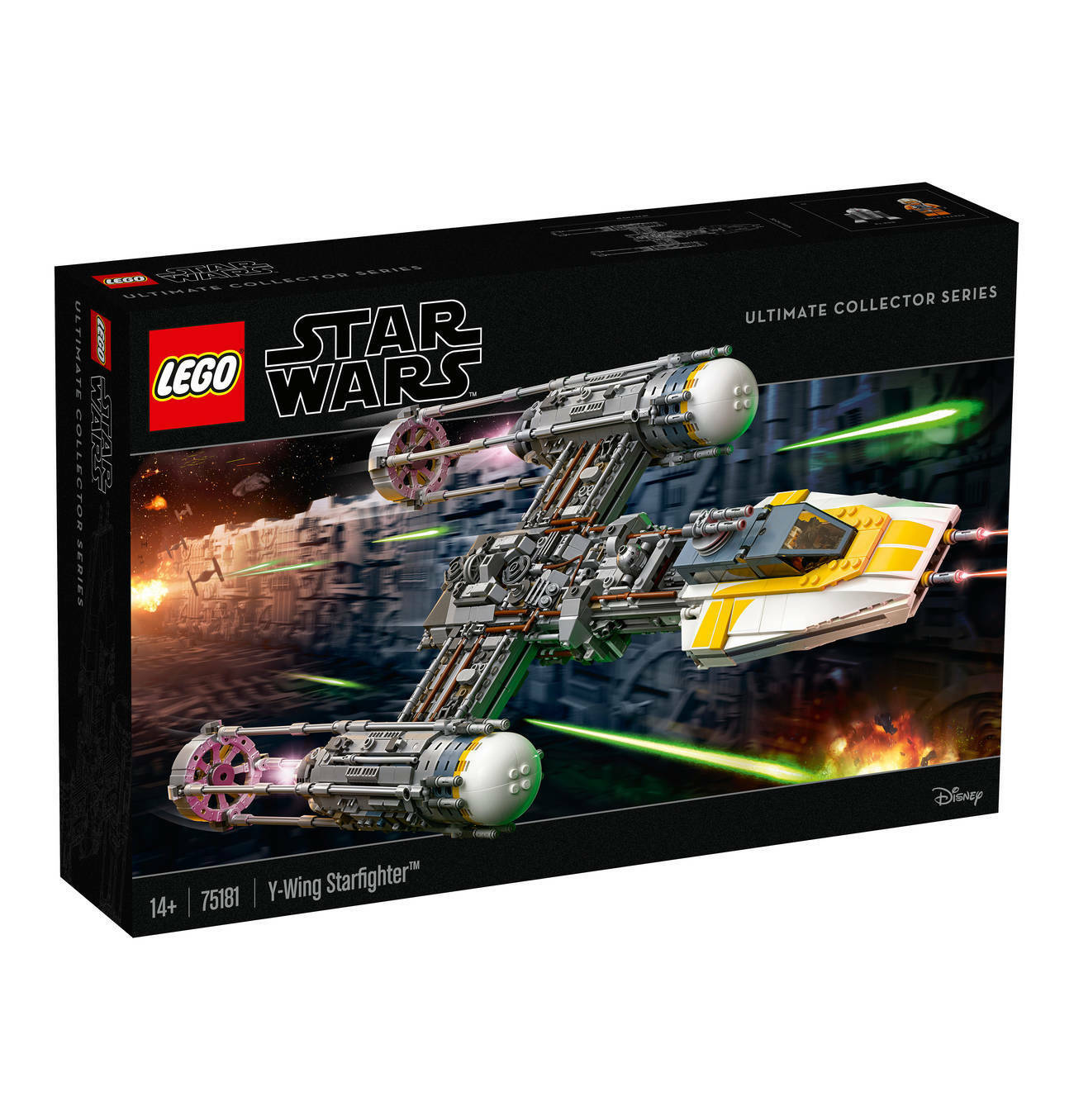 Lego Star Wars Y-wing Y-wing Y-wing Starfighter 75181 Nouveau neuf dans sa boîte New 884c00