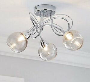 Dunelm-Kelly-Bubble-Glass-3-Light-Living-Room-Ceiling-Fitting-Silver-Smoke-A