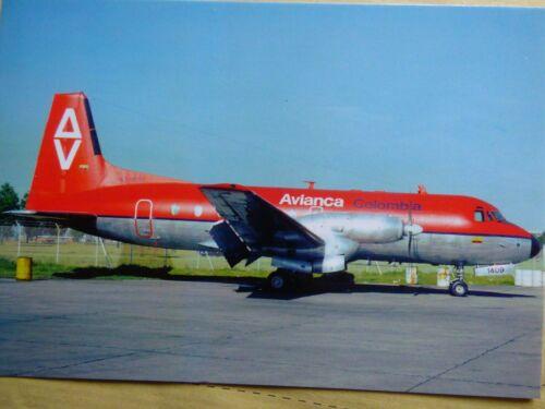 AVIANCA COLOMBIA  HS 748   HK-1409
