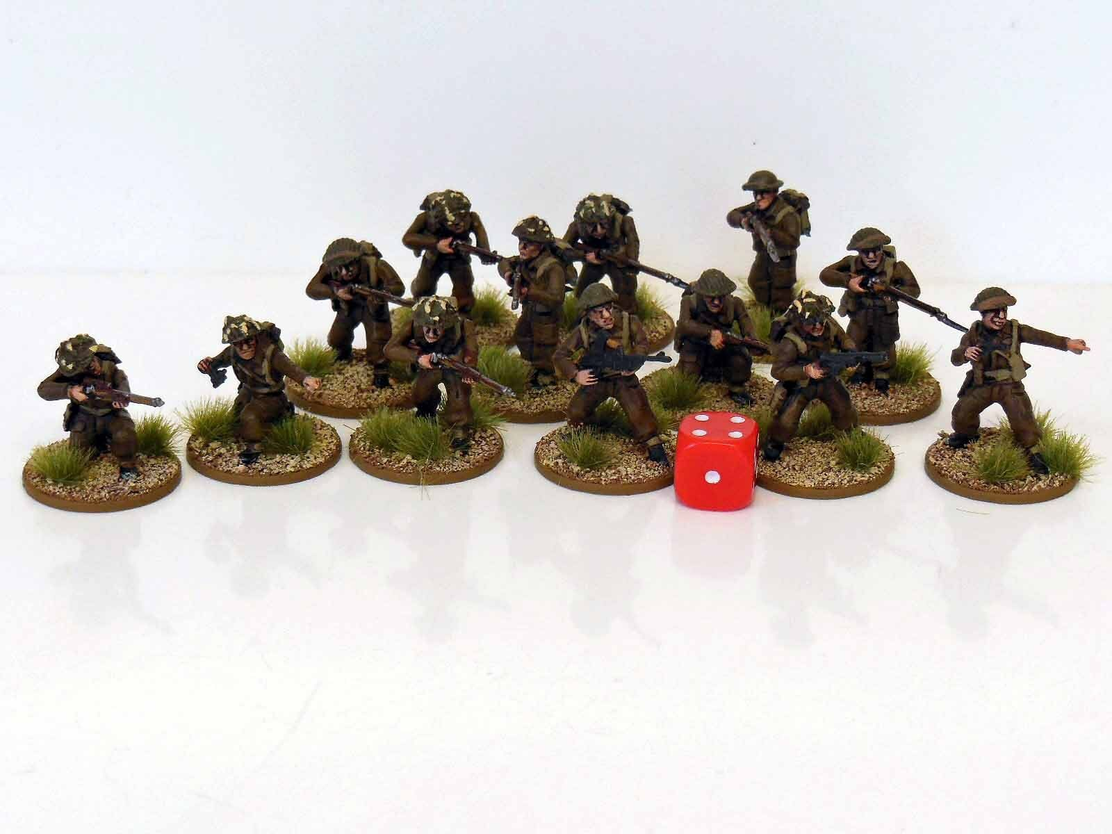 28mm Bolt Action Chain Of Command British Infantry & Sniper Team 13 Figures