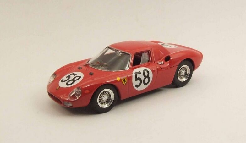 Best MODEL 9478 - Ferrari 250 N°58 24H du Mans - 1964   1 43