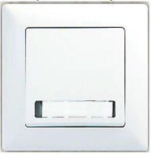 klingeltaster mit namensschild schalter und steckdose ebay. Black Bedroom Furniture Sets. Home Design Ideas