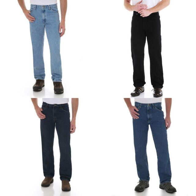 New Wrangler Five Star Regular Fit Jeans Men's Sizes Four Colors Available