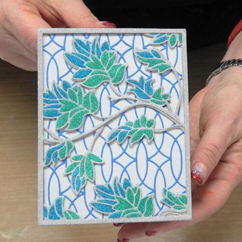 Nature Flower Frame Sights Metal Cutting Dies Set Stencil Album Craft Scrapbook