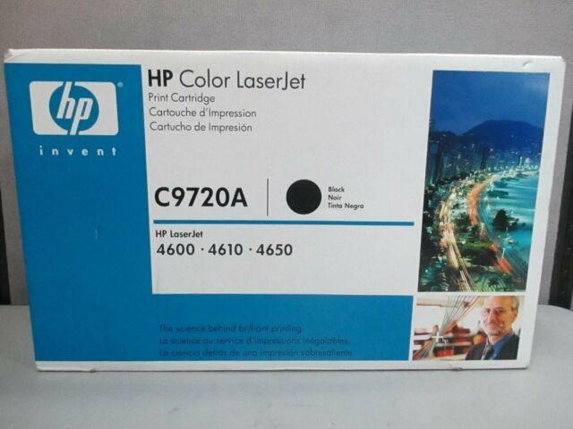 HP C9720A Black 4600 Genuine Toner Cartridge NEW
