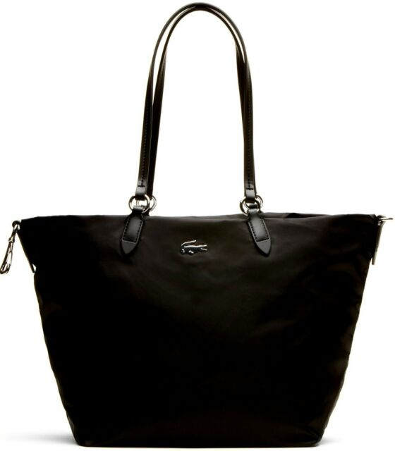 Borsa Ping Donna Lacoste Bag Woman Large Carryall Nf1245cz 000 Black