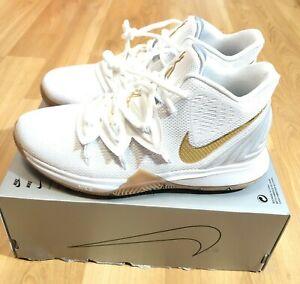 Nike Kyrie 5 GS Irish Size 6.5Y White