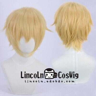Track NO Sanrio Danshi Boys Mizuno Yu Costume Cosplay Wig Free Wig Cap