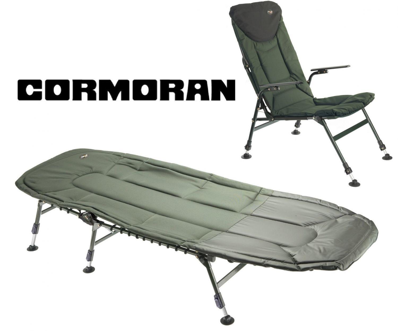 Cormoran Angelliege + Angelstuhl Campingset 6-Bein Karpfenliege Liege + Stuhl Karpfenliege 6-Bein b2498c