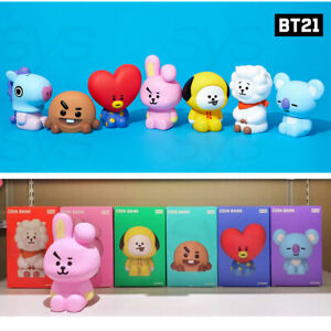 BTS-BT21-Official-Authentic-Goods-Figure-Coin-Bank-Tracking-Number