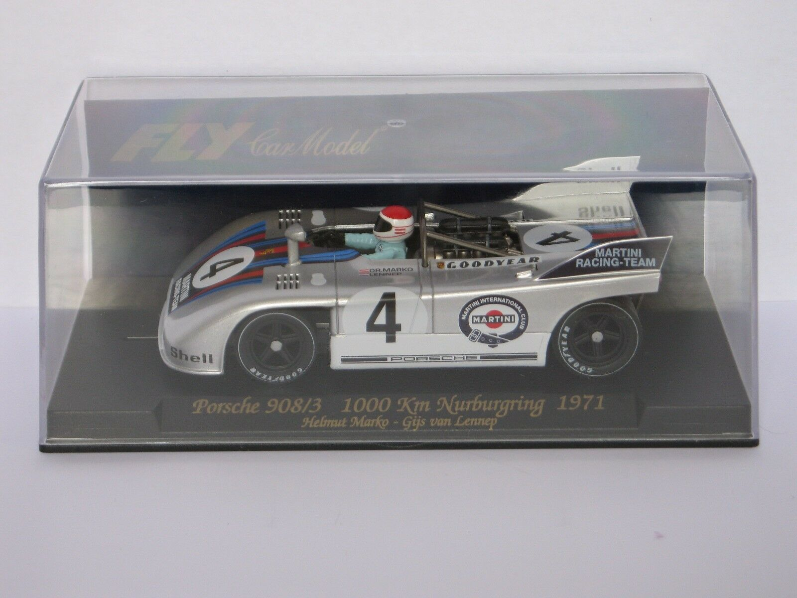FLY Car Classic Porsche 908 3 1000 Km Nurburgring 1971 Ref. C63