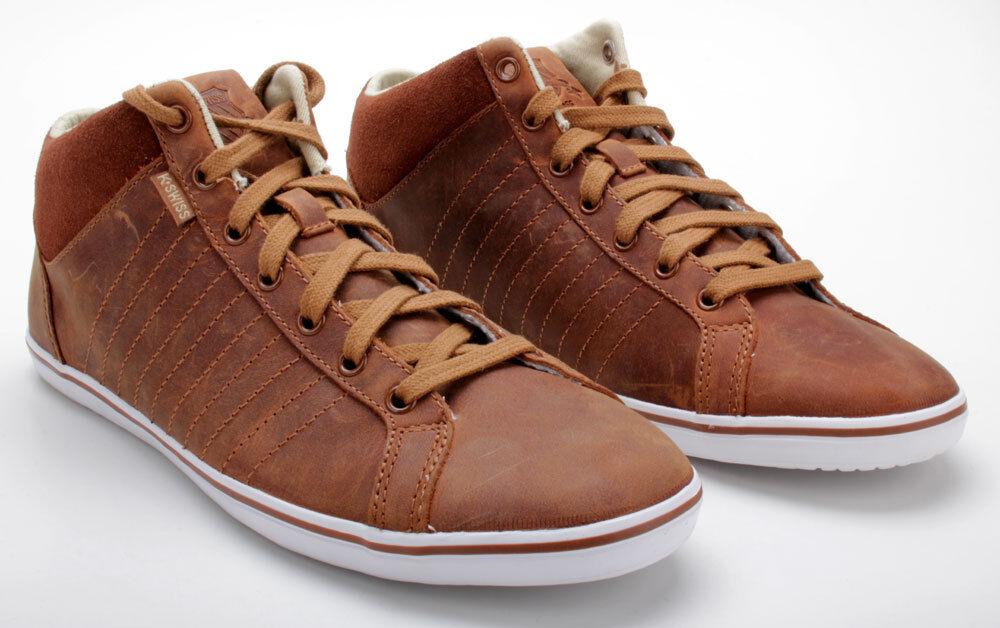 K-Swiss Schuhe Hof III MID VNZ 02938211 Cowboy/Bison/Weiß