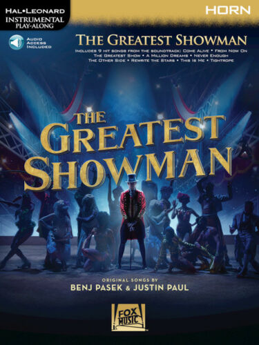 French Horn Instrumental Play-Along Book//Audio 277394 The Greatest Showman