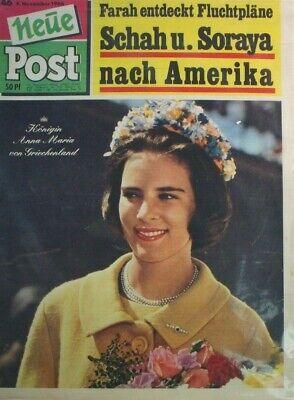 Liberal Neue Post 46 9.november 1966 Fluchtpläne Schah Und Soraya Nach Amerika B-17465 Schmerzen Haben
