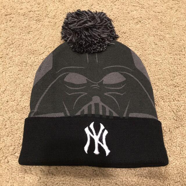 2c3eb7a577 New York Yankees SGA Darth Vader Star Wars Knit Winter Ski Cap Hat  8 25 2017 for sale online