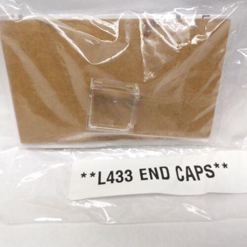 JUNO DANALITE SLW101EC END CAP FOR SEALING FIELD CUT END FOR LUMINAIRE