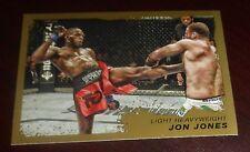 Jon Bones Jones 2011 Topps Moment of Truth UFC Gold Card #205 159 152 145 140