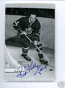 Image is loading Red-Kelly-Maple-Leafs-Signed-Autographed-Postcard-w- 09088fbbd