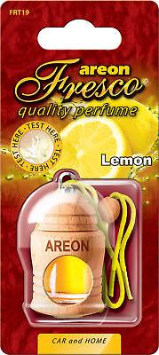 3x Originale Areon Fresco Profumo Per Auto Albero Profumato Deodoranti Limone