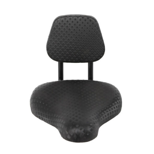 1X Comfortable Saddle Seat Pad For Bike Tricycle Electric Vehicle with Back Rest