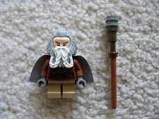 LEGO LOTR Lord Of The Rings The Hobbit - Oin the Dwarf w/ Cape/Staff - Excellent