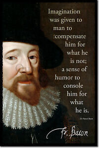 Sir Francis Bacon Art Print Photo Poster Gift Quote Ebay