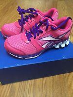 Girls/kids Reebok Zigtech zigkick Alpha Running Shoes V53772