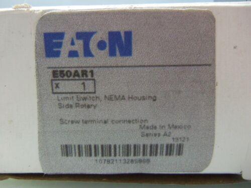 New Eaton Cutler Hammer E50AR1 Rotary Limit Switch Ser A2 E50DR1 E50SA E50RA NIB