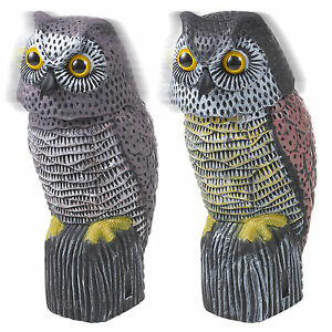 Nice Image Is Loading Owl Wind Action 360 Rotating Moving Head Ornament