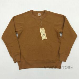Bob-Dong-Crew-Neck-Plain-Sweatshirt-Men-039-s-Double-V-Long-Sleeve-Sweater-6-Colors