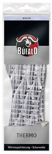 36-46 2 Paar Bufalo Thermo Einlege Sohlen 100/% Schurwolle Einlagen Winter Gr