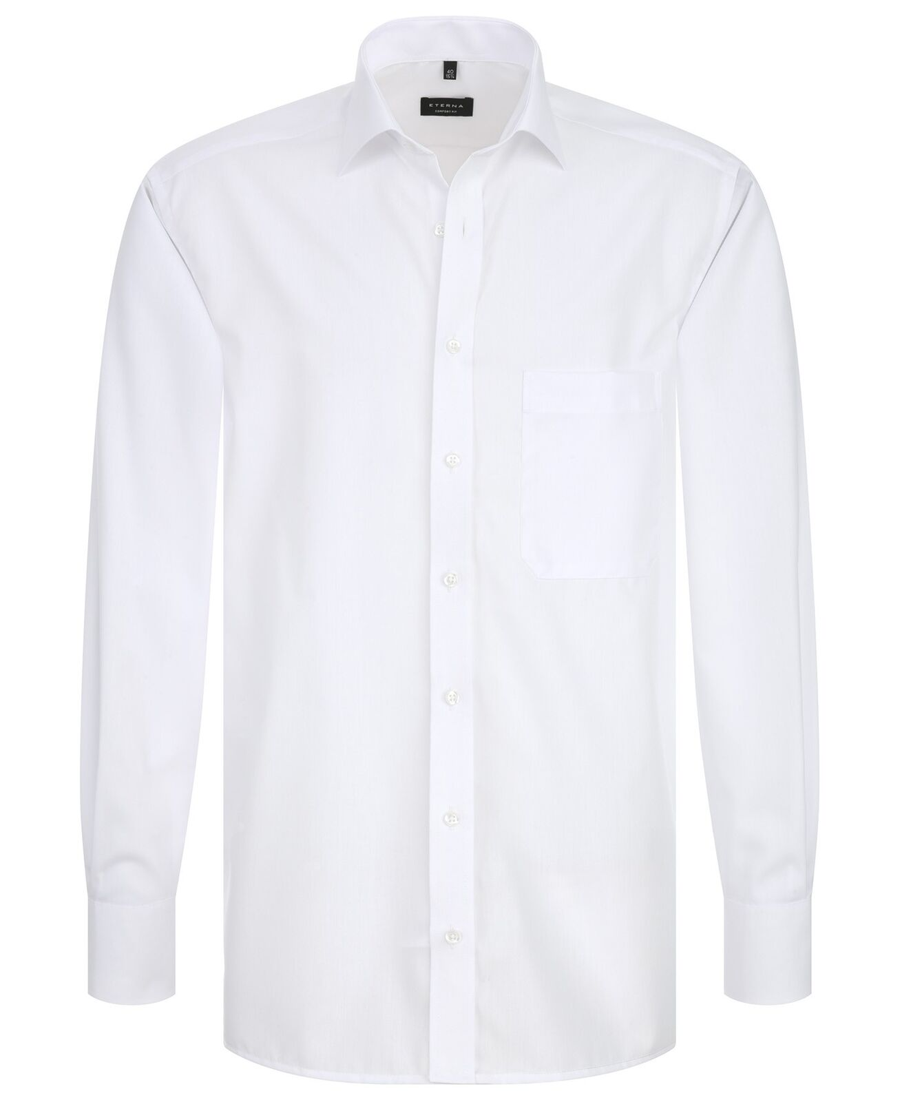 Eterna-Comfort fit-Uomo Camicia Manica Lunga Vers. colorei, Kent colletto (1100 e187)