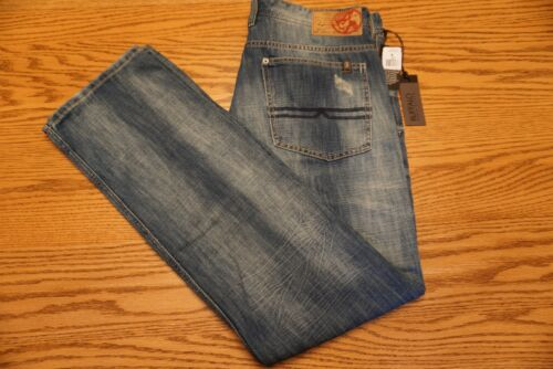 NWT MEN/'S BUFFALO DAVID BITTON JEANS Multiple Sizes Evan Basic Slim Distressed