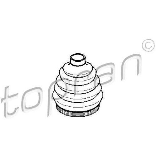 TOPRAN 108 931 Faltenbalgsatz Antriebswelle für AUDI SKODA VW