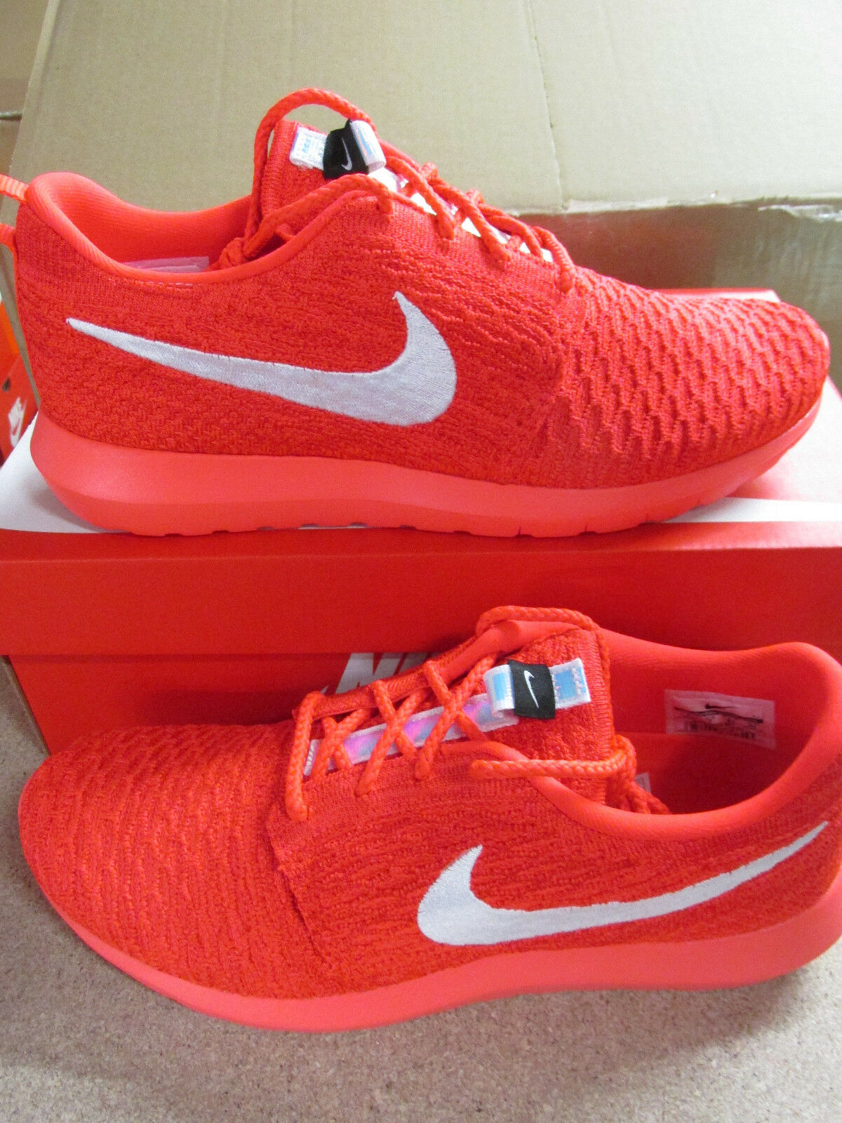 nike flyknit rosherun homme  running trainers 677243 604 sneakers  chaussures
